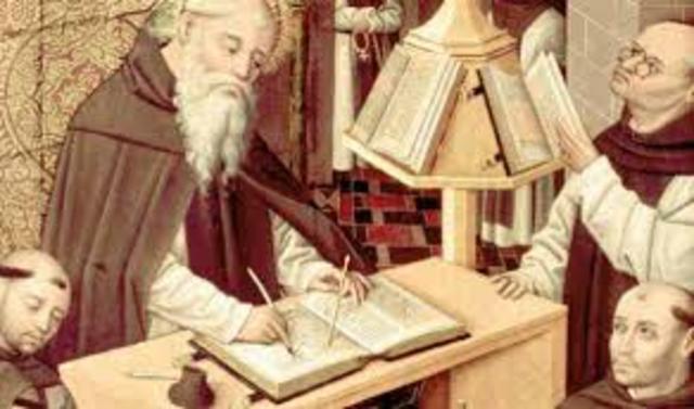 Siglo VII-XV d.C. Alta Edad Media de la Educación