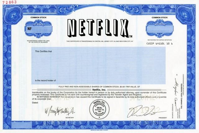 Netflix IPO
