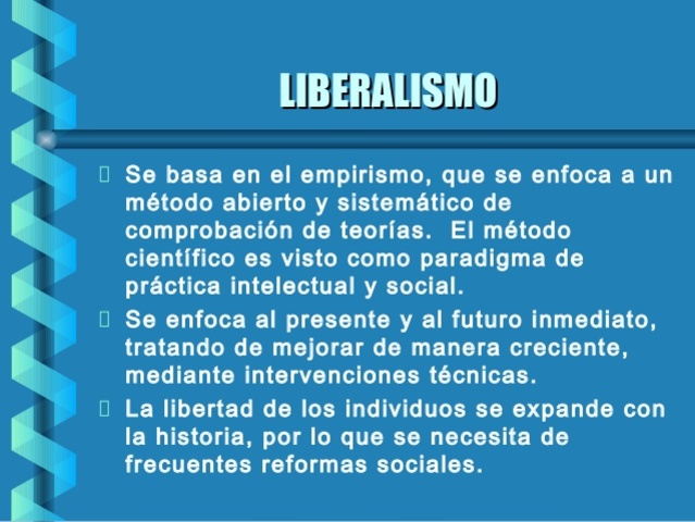 Siglo XVIII, El Liberlismo Educativo