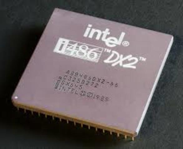 Intel lanza microprocesador 80486