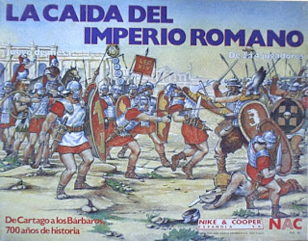 (477 D.C – 1453 D.C) CAIDA DEL IMPERIO ROMANO