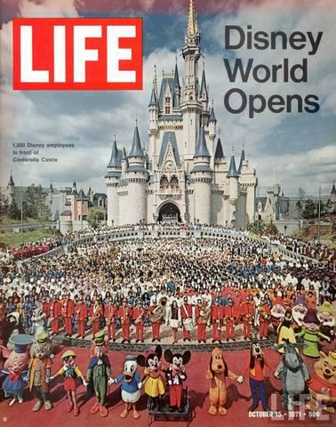 Walt Disney World's Grand Opening