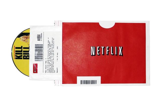 Netflix y DVDs