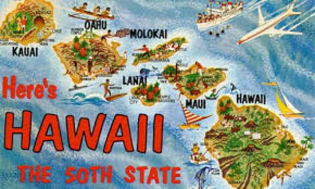 Hawaii became a state
