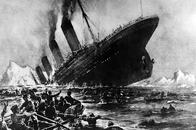 "Titanic, the ""unsinkable"""
