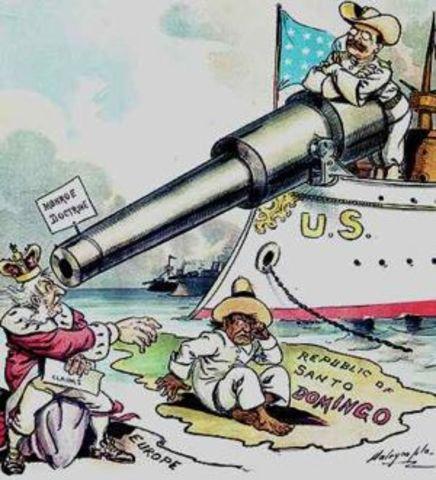 Big Stick Diplomacy- Roosevelt Corollary