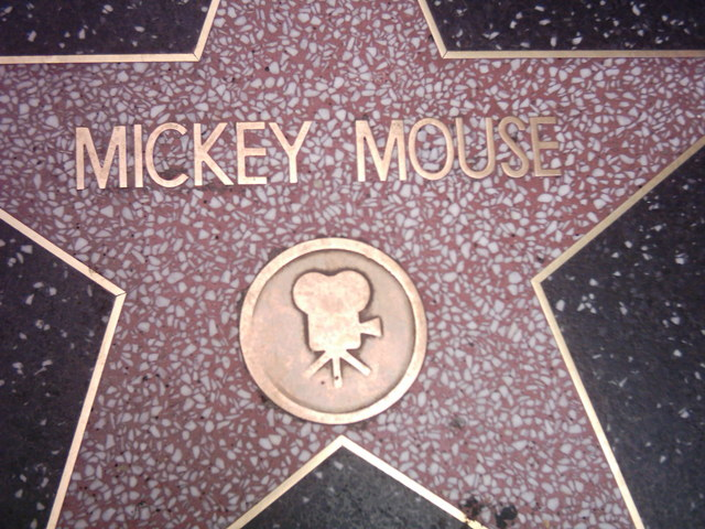 Mickey Joined the Hollywood Walk of Fame