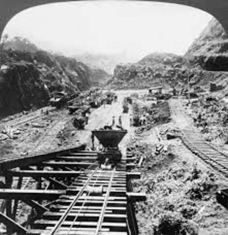 U.S. takes Panama Canal
