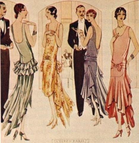 The flapper era