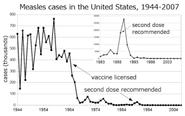 Measles Eradication Program in U.S.