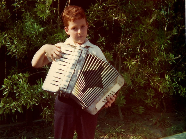 First accordian lesson