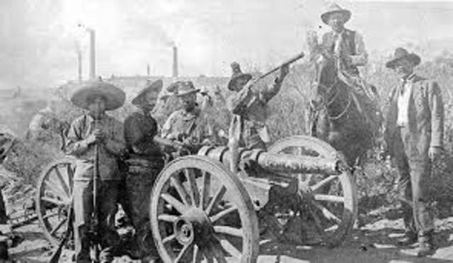 Mexican Revolution Uprisings Begin