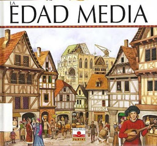 Edad media 1453 d.C.