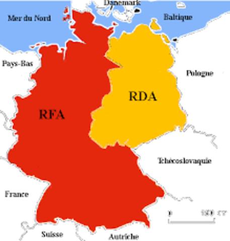 Naissance de la RFA et de la RDA