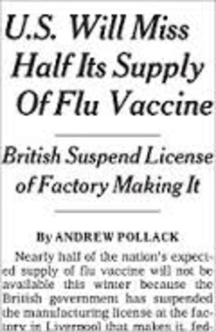 Flu Vaccine Shortage