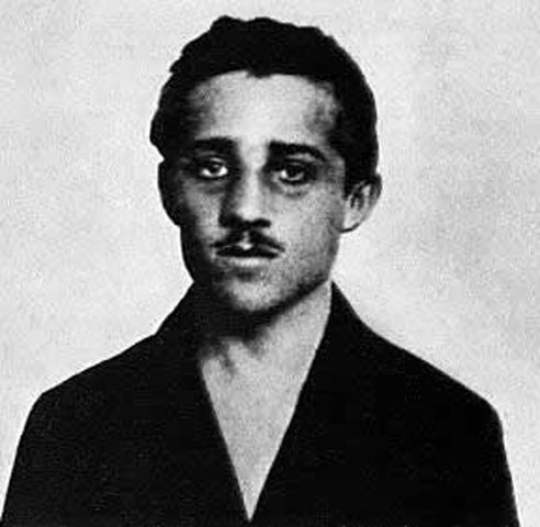 Gavrilo Princip fired two shots into the Archduke