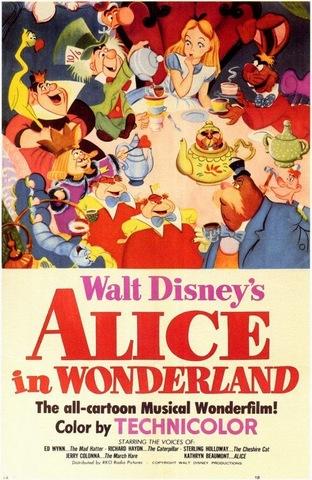 Alice Fell into a Disney Production