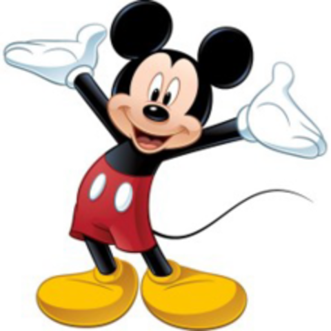 Mickey Mouse Became a star!