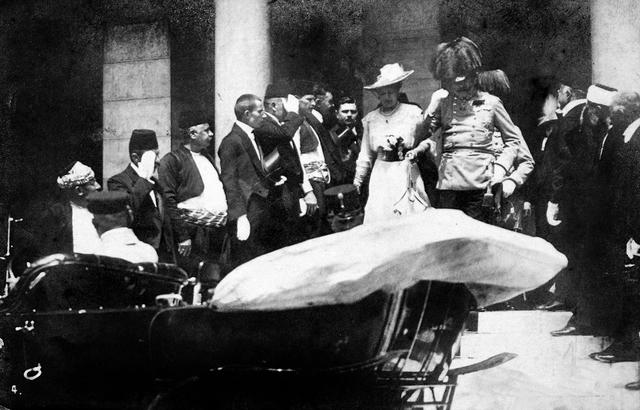 Archduke and Archduchess visit Sarajevo