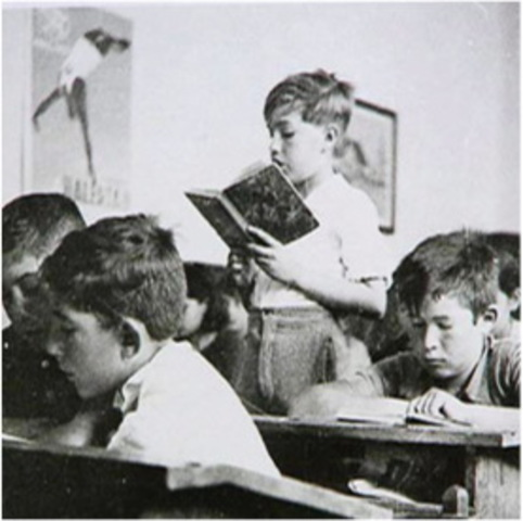 Origen al niño escolar