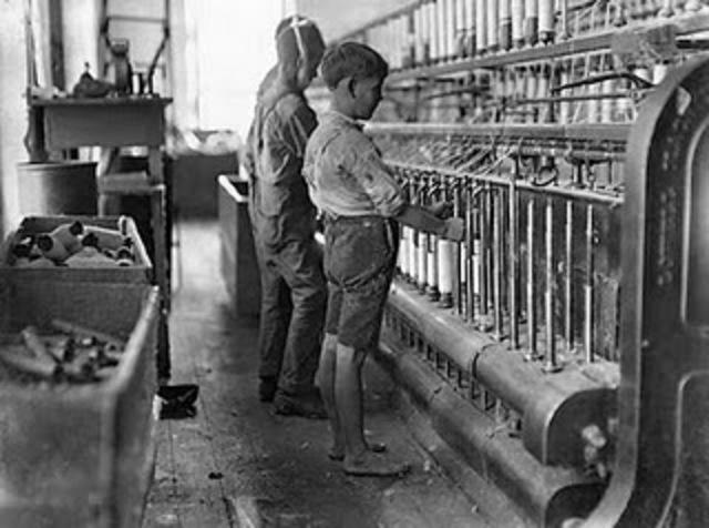 Orígen de los niños trabajadores