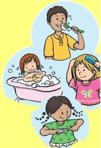 Importancia de higiene en los niños