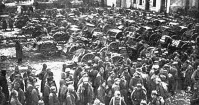 Derrota de Russia a Tannenberg
