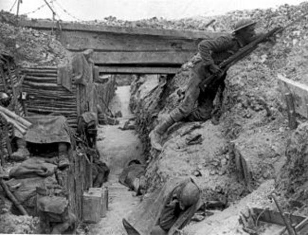 els anglesos desfermen una batalla paral·lela a Verdun, a la Batalla de Somme