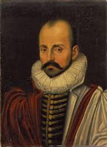 Montaigne 1533 - 1592