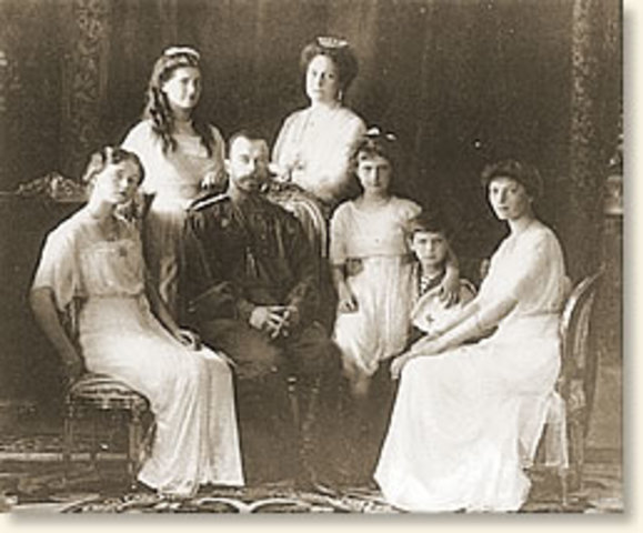 The Tsar and Family are Killed