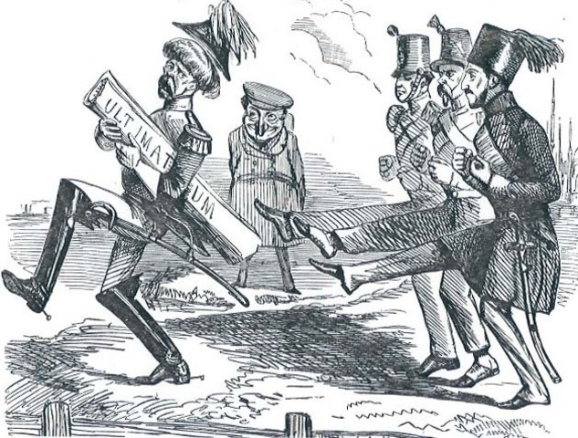 Austria-Hungary sends an ultimatum to Serbia