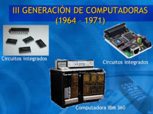 tercera generacion (1964-1975)