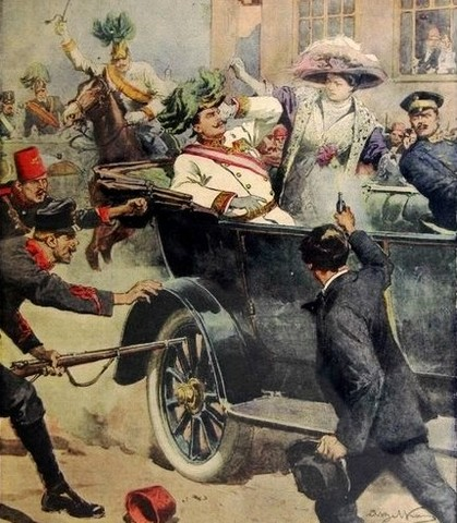 Gavrilo Princip Fired Two Shots