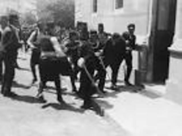 Gavrilo Princip is Arrested