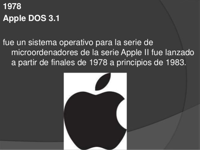 APPLE II 3.1
