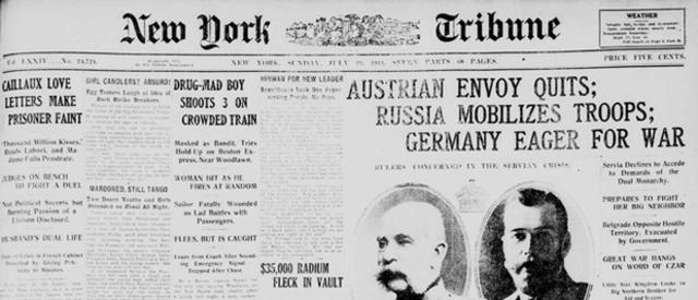 Austria-Hungary Sends Ultimatum to Serbia