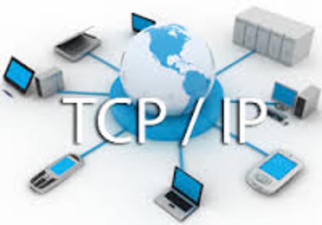 1962 se desarrolla el protolo tcp/ ip