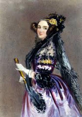 Lady ada Augusta Lovelace COMO PRIMERA PROGAMADORA