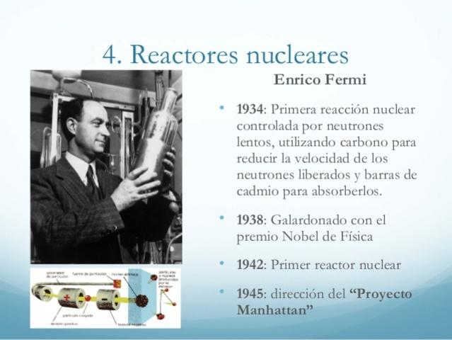 Primera Reacción Nuclear controlada