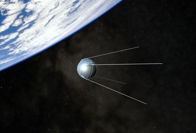 Primer Satélite artificial lanzado por la Unión Soviética