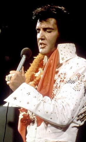 Elvis Presley and my Mom die