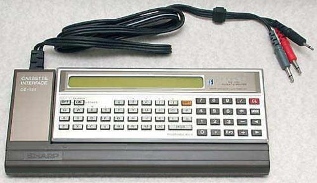 [Sharp] Premier ordinateur de poche programmable
