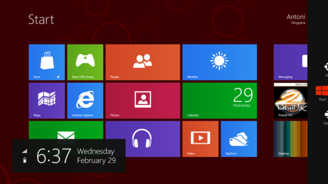 Microsoft lanza windows 8.
