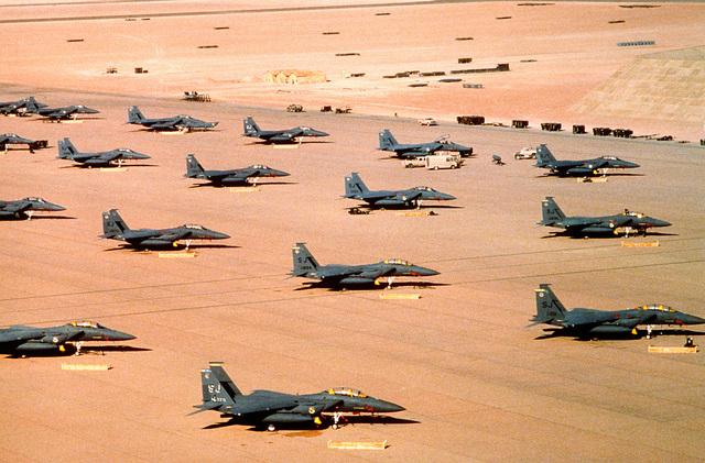 Aircraft of the Persian Gulf War (Operation Desert Storm)