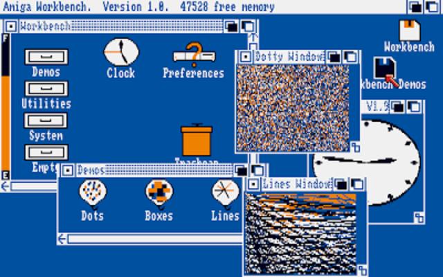 sistema operativo AmigaOS