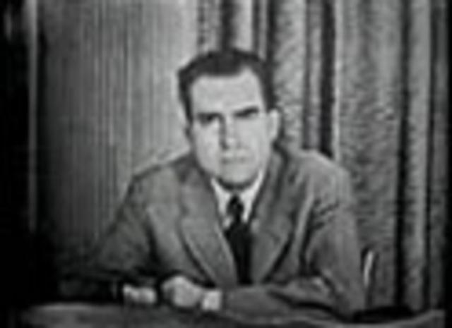Nixon talks about his dog