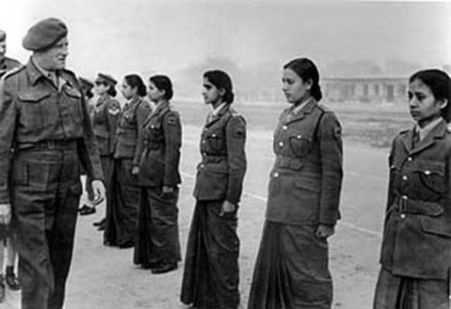 India's Women's Auxiliary Corps