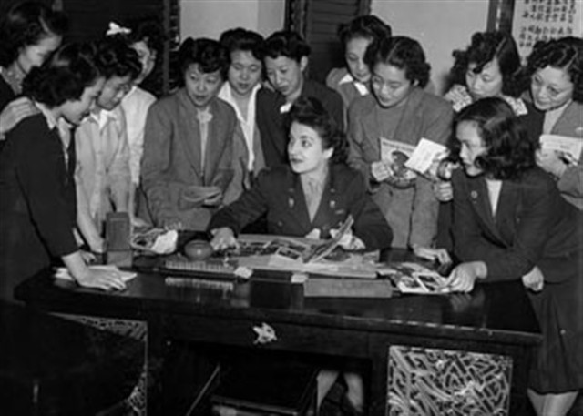 """The U.S. Women's Army Corps recruited a unit of Chinese-American women to serve with the Army Air Forces as """"Air WACs."""""""