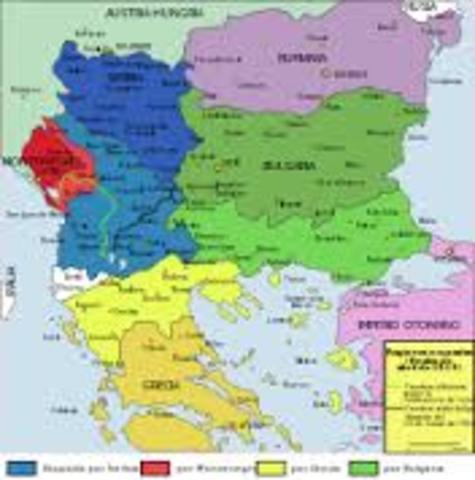 guerra dos Balcanes
