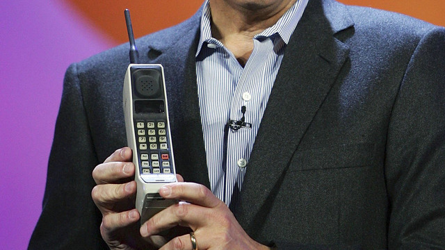 First Sales of mobile phones
